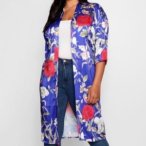 Other - NEW Floral Butterfly Duster Kimono Plus Size 20